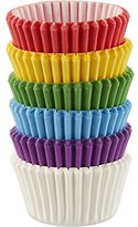 Wilton Mini Baking Cups Rainbow, Acrylic, Multicoloured, pack of 150