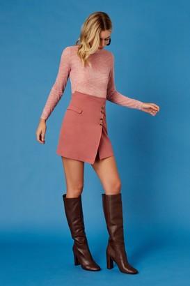 Finders Keepers CALABASAS SKIRT Pink Terracotta
