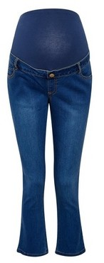 Dorothy Perkins Womens Dp Maternity Blue Mid Wash Kick Flare Jeans, Blue