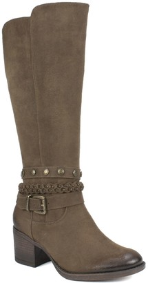 White Mountain Western-Style Tall Boots - Paulina