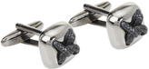 Oxford Cufflinks Laced Gunmetal