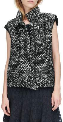 Rebecca Taylor Amsterdam Tweed Vest