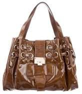 Jimmy Choo Patent Leather Ramona Bag