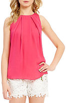 Antonio Melani Nelia Sleeveless Silk Blouse