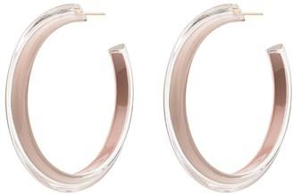 Alison Lou gold-plated medium Jelly hoop earrings