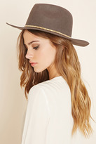 Forever 21 Metal Trim Wool Fedora