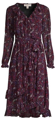 MICHAEL Michael Kors Zinia Paisley Wrap Dress