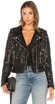 Blank NYC BLANKNYC West Side Moto Jacket in Black. - size L (also in M,S,XS)