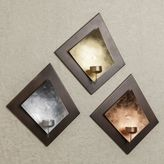 Danya B. Wall Tea Light Holder Set in Gold/Silver