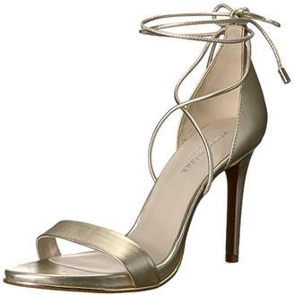 Kenneth Cole New York Women's Berry Heeled Sandal with Ankle Wraparound Lacing