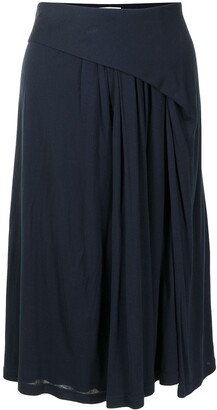 Balenciaga Pre-Owned Draped Knee-Length Skirt