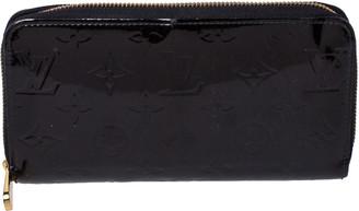 Louis Vuitton Terre D'Ombre Monogram Vernis Zippy Wallet