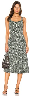 Free People Lorelai Printed Midi