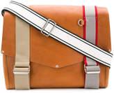 Maison Margiela buckle-strap shoulder satchel