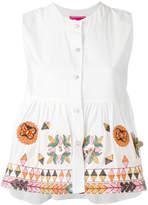 Amuse Muguet buttoned blouse