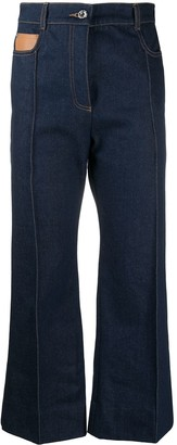 Paco Rabanne Bootcut Panelled Jeans