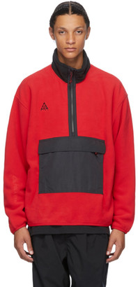 Nike ACG Red NRG Half-Zip Sweater