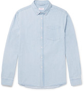 Saturdays NYC Crosby Slim-Fit Button-Down Collar Washed-Denim Shirt