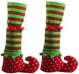 Generic 1 Pair Christmas Table Leg Covers Elf Elves Feet Shoes Legs Party Decorations