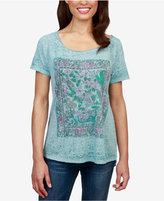 Lucky Brand Floral Gardens Graphic T-Shirt