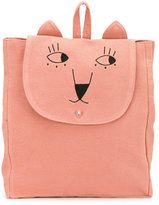 Emile et Ida embroidered backpack - kids - Cotton - One Size