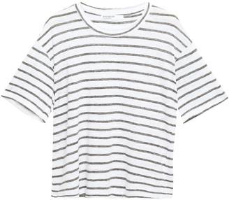 Stateside Striped Slub Linen-jersey T-shirt