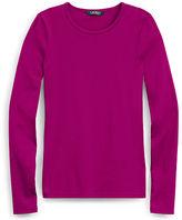Ralph Lauren Petite Cotton Long-Sleeve Shirt