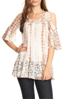 T-Party Fashion Cold Shoulder Top