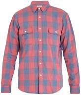 Faherty Belmar checked-cotton shirt