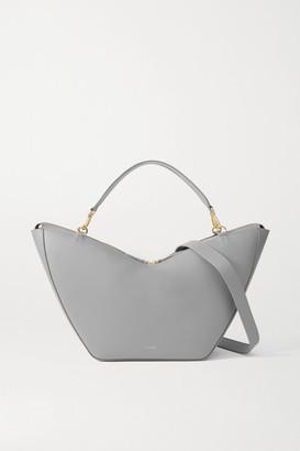 S.JOON Tulip Large Leather Shoulder Bag - Gray