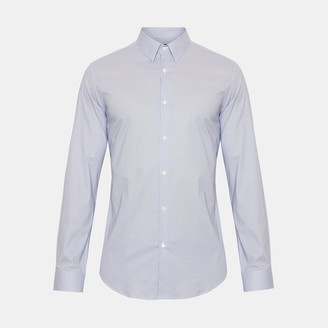 Theory Cotton Check Cedrick Shirt