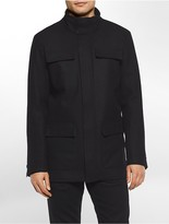 Calvin Klein Wool Blend 4-Pocket Jacket
