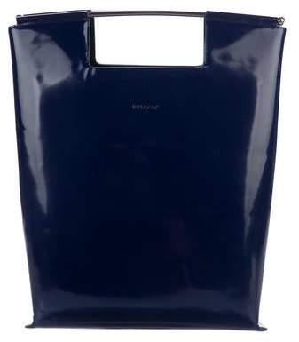 DELPOZO Bicolor Leather Bag