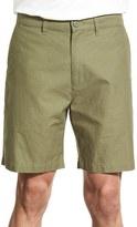 Patagonia Men's Flat Front Woven Organic Cotton & Hemp Shorts