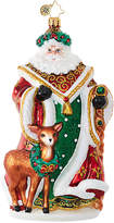 Christopher Radko My Deer Santa Ornament
