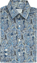 Duchamp Paisley Tailored-fit Cotton Shirt