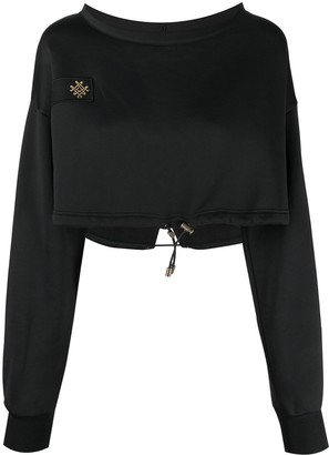 Mr & Mrs Italy x Audrey Tritto embroidered logo hoodie