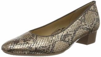 ara Women's Milano Closed Toe Heels Black (Schwarz 01) 8 UK