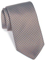 Eton Men's Houndstooth Silk Tie