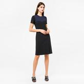 Paul Smith Women's Black And Navy Milano Shift Dress
