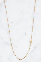 Tai Gold Alphabet Necklace N Gold