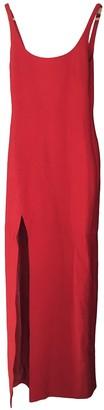 Cinq à Sept Red Polyester Dresses