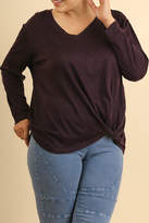 Umgee USA Purple Sweater Top
