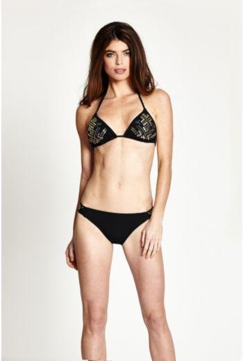 GUESS Corps Values Triangle Bikini Bra Top