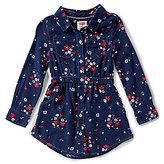 Levi's s Little Girls 2T-6X Floral Button-Down Dress