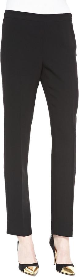 Lafayette 148 New York Bleecker Slim-Leg Pants