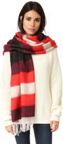 Rag & Bone Brushed Blanket Stripe Scarf