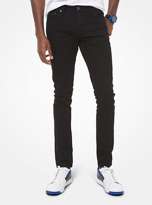 Michael Kors Slim-Fit Stretch-Cotton Jeans