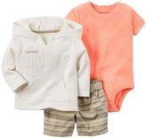 Carter's 3 Piece Cardigan Set (Baby) - Ivory - 24 Months