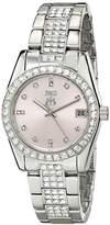 Jivago Women's JV6414 Magnifique Analog Display Quartz Silver Watch